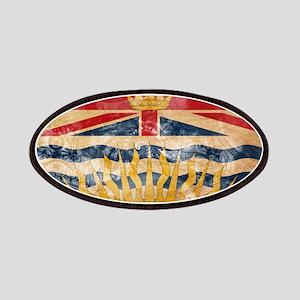 British Columbia Flag Patches