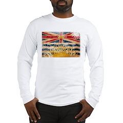 British Columbia Flag Long Sleeve T-Shirt