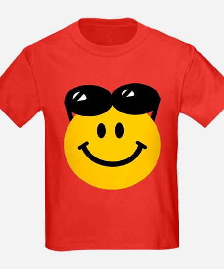 Perched Sunglasses Smiley T