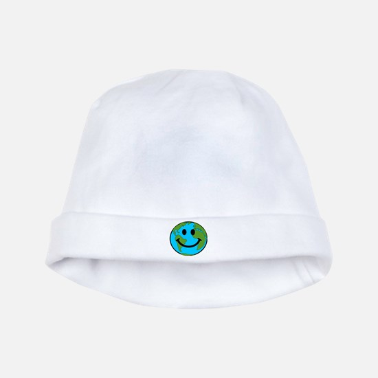 Smiling Earth Smiley baby hat