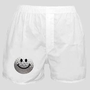 Golf Ball Smiley Boxer Shorts