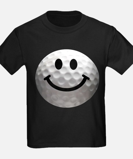 Golf Ball Smiley T