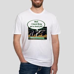 Boob Job Fitted T-Shirt