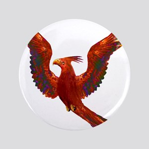 "Phoenix Rising 3.5"" Button"