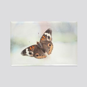 Butterflies Nature Photograph Rectangle Magnet