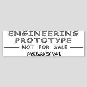 Prototype Rev. B Sticker (Bumper)