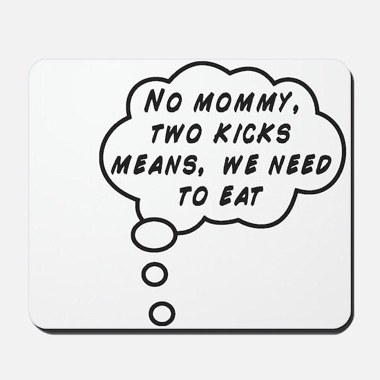 Two Kicks Mousepad