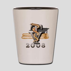 2008 Vet Tech Grad Shot Glass