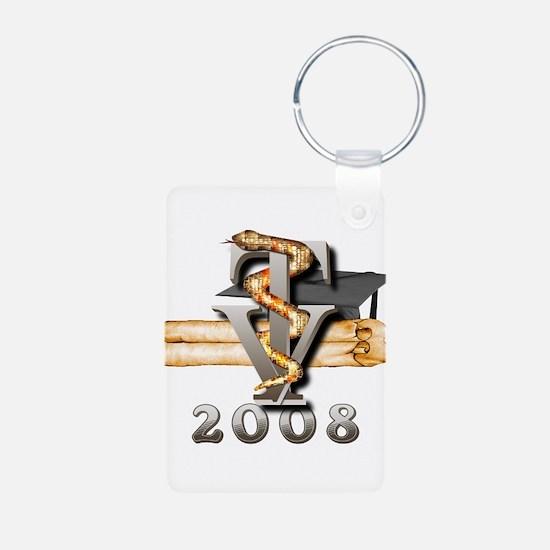 2008 Vet Tech Grad Keychains