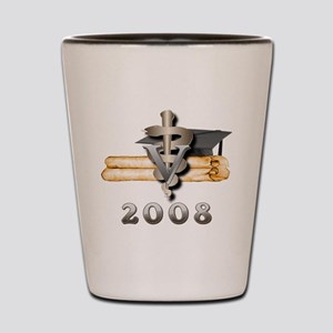Vet Grad 2008 Shot Glass