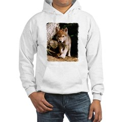 Approaching Wolf Pup Hoodie