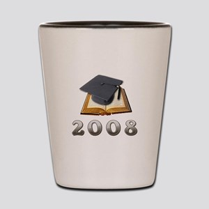 2008 Graduate Shot Glass