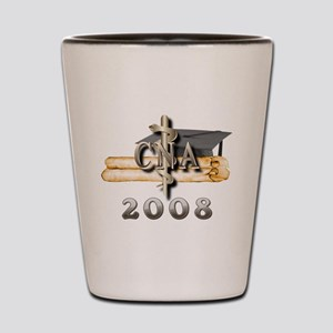 CNA Grad 2008 Shot Glass