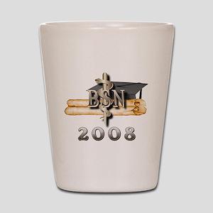 BSN Grad 2008 Shot Glass