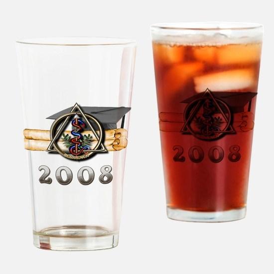 Dental Grad 2008 Drinking Glass