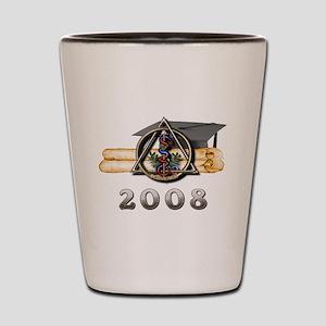 Dental Grad 2008 Shot Glass