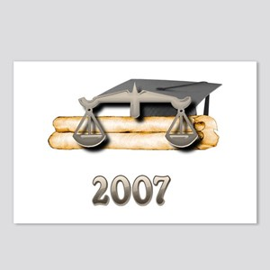 Law Grad 2007 Postcards (Package of 8)