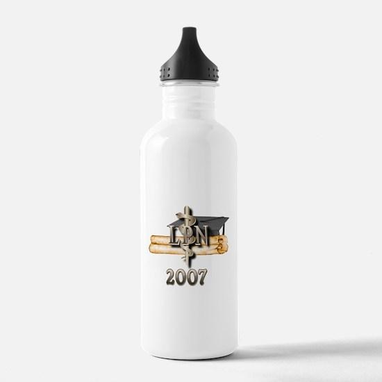 LPN Grad 2007 Water Bottle