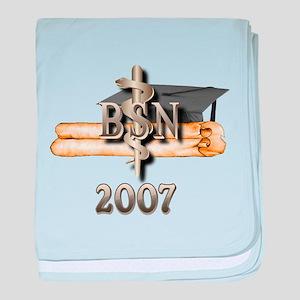 BSN Grad 2007 baby blanket