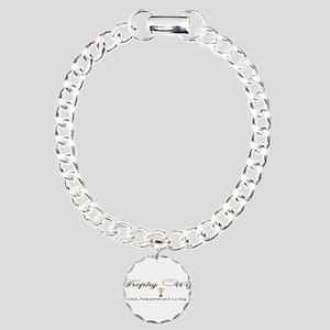 Trophy Wife Charm Bracelet, One Charm