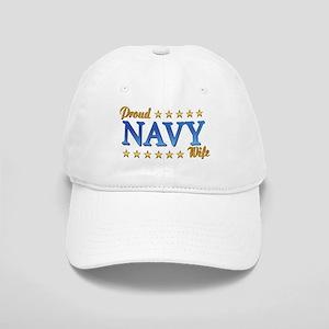 Proud Navy Wife Cap
