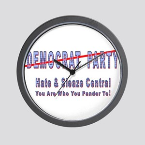 Hate/Sleaze Central Wall Clock