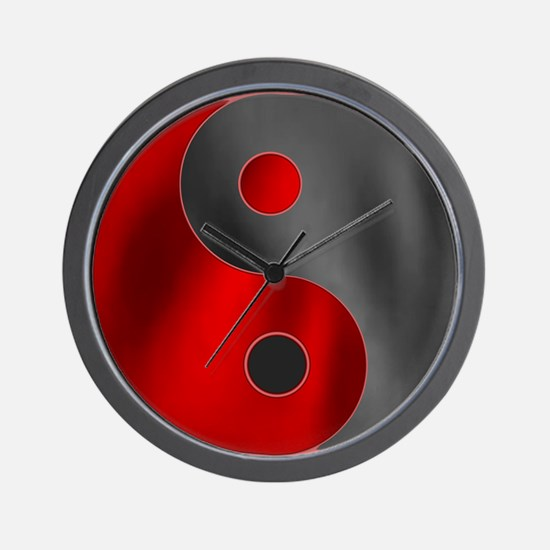 Unique Yin yang Wall Clock