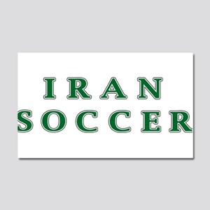 Iran Soccer Car Magnet 20 x 12