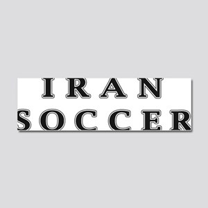 Iran Soccer Car Magnet 10 x 3