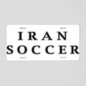 Iran Soccer Aluminum License Plate
