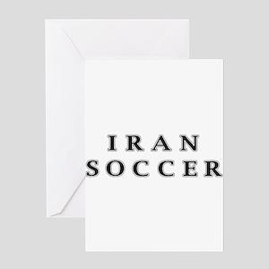 Iran Soccer Greeting Card