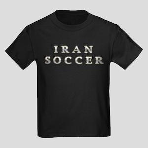 Iran Soccer Kids Dark T-Shirt