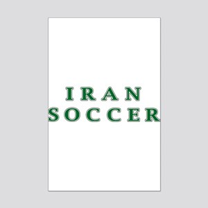 Iran Soccer Mini Poster Print