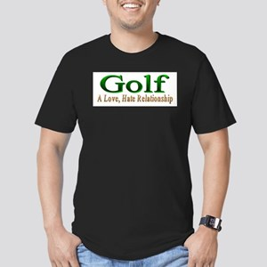 Golf Men's Fitted T-Shirt (dark)