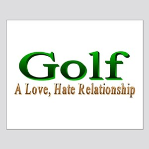 Golf Small Poster