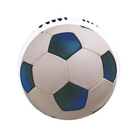 """Soccer Mom 3.5"""" Button (100 pack)"""