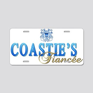 Coastie's Fiancee Aluminum License Plate