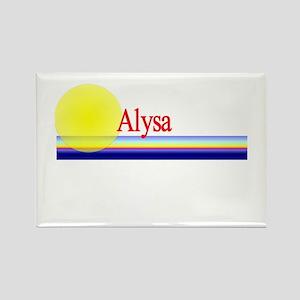Alysa Rectangle Magnet