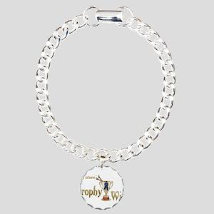 Future Trophy Wife Charm Bracelet, One Charm