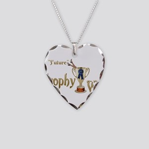 Future Trophy Wife Necklace Heart Charm