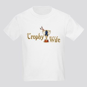 Trophy Wife Kids Light T-Shirt