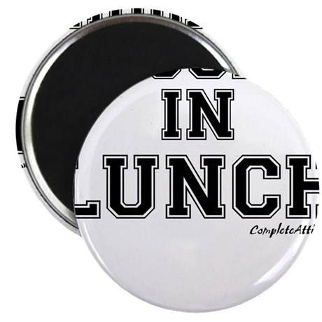 """Majored In Lunch 2.25"""" Magnet (100 pack)"""
