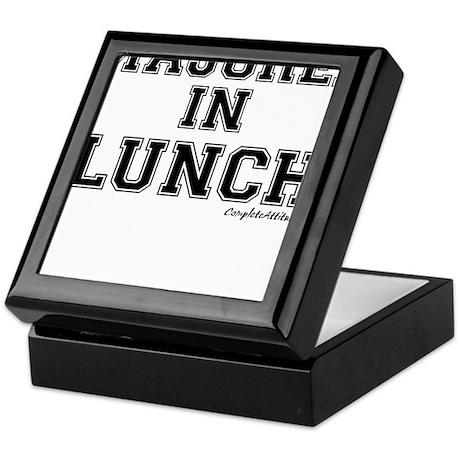Majored In Lunch Keepsake Box