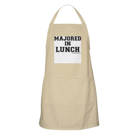 Majored In Lunch Apron