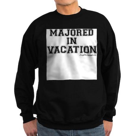 Majored In Vacation Sweatshirt (dark)