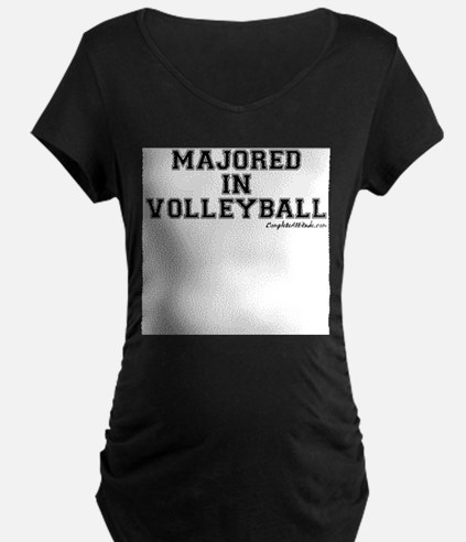 Majored In Volleyball T-Shirt
