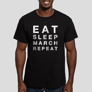 Eat sleep march repeat T-Shirt