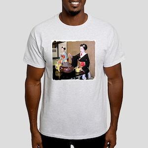 Helaine's Geisha Ash Grey T-Shirt