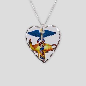 Future Nurse Necklace Heart Charm