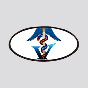 Veterinary Caduceus Patches
